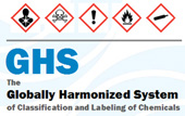 OSHA Globally Harmonized System of Classification and Labeling of Chemicals Logo